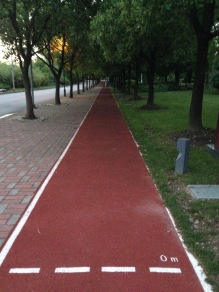 Minhang Campus - track I used to run on